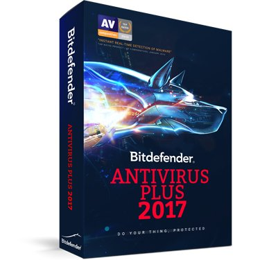 Bitdefender Antivirus Plus 2017 3-User 2YR (BIL)