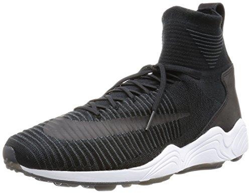 Nike Zoom Mercurial XI FK Mens Hi Top Trainers 844626 Sneakers Shoes (US 10.5, Black White Anthracite 001)