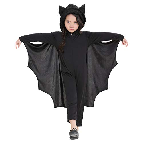Meeyou Kids Unisex Vampire Bat Costume,10-12 (Bat Costumes For Kids)