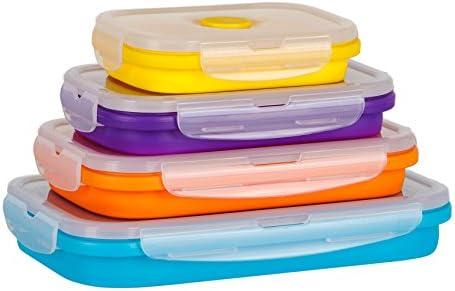 Flat Stacks Recipientes de almacenamiento de cocina de alimentos ...