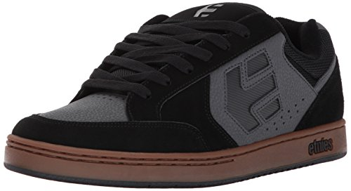 Etnies Mens Men's Swivel Skate Shoe, Black/Grey/Gum, 10 Medium US