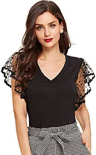 234469bb4d Shopping SheIn - Tops, Tees & Blouses - Clothing - Women - Clothing ...