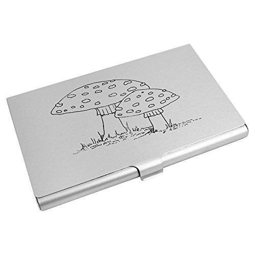 Credit Azeeda Business Holder Mushrooms' Card CH00000367 'Two Card Wallet a4B4pS7q