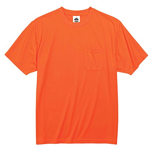 Buy ergodyne 8089 xl orange non-certified t-shirt