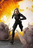 Tamashii Nations S.H. Figuarts Black Widow & Tamashii Effect Explosion 'Avengers: Infinity War'