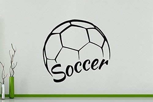 Balón Fútbol Logo - Deportes Fútbol Niños Chicos Dormitorio Sala ...