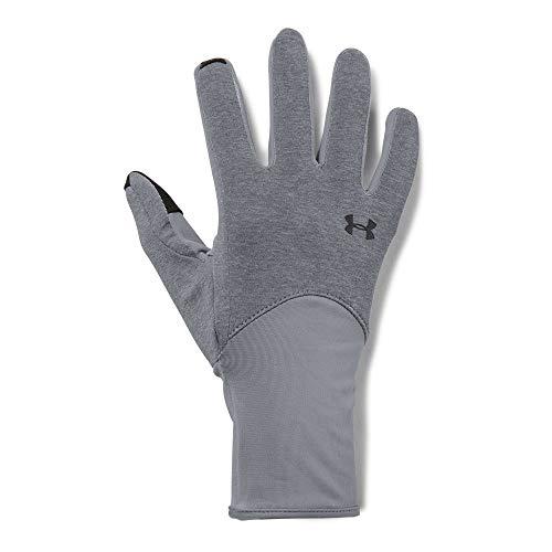 Under Armour Women's Liner Gloves, Steel (035)/Steel, Medium