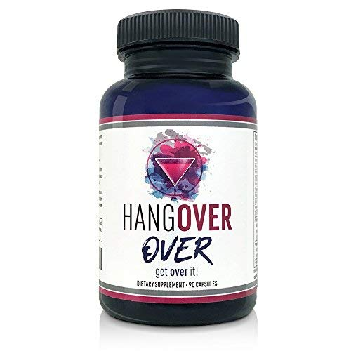 Hangover Prevention and Detox Pills for Adults, 90 Ct - Replenish Nutrients and Electrolytes with Milk Thistle, Ashwagandha, Gingko Biloba, Green Tea, and More