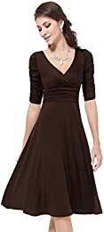 Amazon.com: Brown - Prom &amp Homecoming / Dresses: Clothing Shoes ...