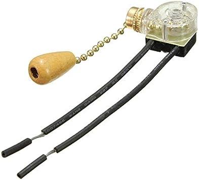 Interruptor de tirador de luz para ventilador de techo, lámpara de ...
