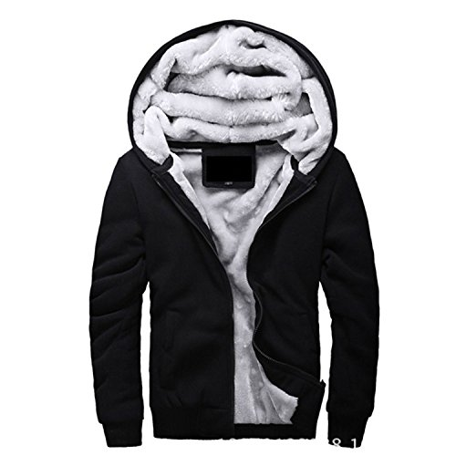 Cyose Fashion Bomber Jacket Men Thick Outwear Overcoat Winter Warm Mens Jackets and Coats Hoodies Male 4XL 5XL Black 5XL