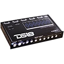 DS18 DS-KEQ7 DS18 Seven Band Pre Amplifier Equalizer with Front Aux 7 Volt RCA
