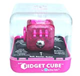 Zuru Fidget Cube by Antsy Labs - Custom Series (Solid Pink Switch) Hot Pink Fidget Cube