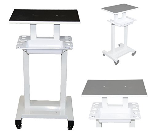 LCL Beauty Steel Frame Salon Spa Roller Trolley Cart Stand Storage Bin...