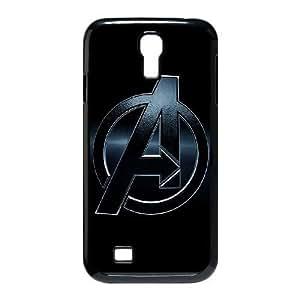 Samsung Galaxy S4 I9500 Phone Case Black The Avengers Logo BFG565488
