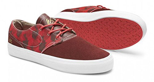 Es Skateboard Shoes ACCENT Red Sz 7