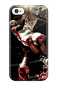For Iphone Case, High Quality Awesome Sports Nba For Iphone 4/4s Cover Cases