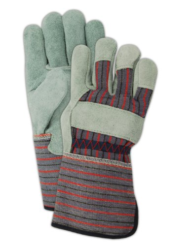 Magid DuraMaster TG725E Leather Glove, Gauntlet Cuff, Large (One Dozen) -