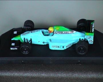 #087 Onyx Gugelmin #15 Leyton House CG901 1/43 Scale Diecast Formula 1 Car
