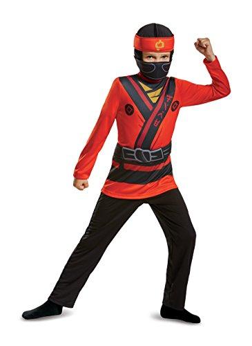 LEGO Ninjago Kai Costume Small 4-6 ()
