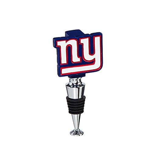 Team Sports America New York Giants Hand-Painted Team Logo Bottle Stopper