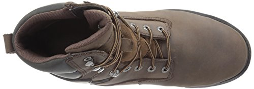Men's Comp Waterproof Work Toe Wolverine inch Insulated Brown Dark Nation Shoe 8 FwdXqY