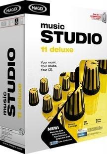 Music Studio 11 Deluxe [OLD VERSION] (Magix Studio Software)