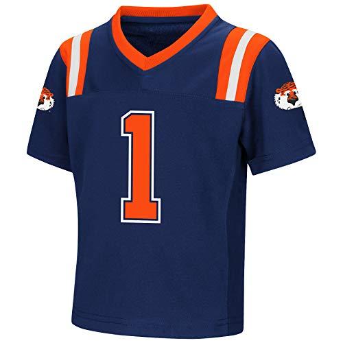 Colosseum NCAA Toddler-Play Action Pass-#1 Team Football Jersey-Auburn Tigers-2T