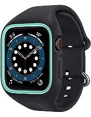 Spigen Caseology Compatible for Apple Watch Series 6/SE/5/4 Strap with Case Nano Pop - Prune Charcoal