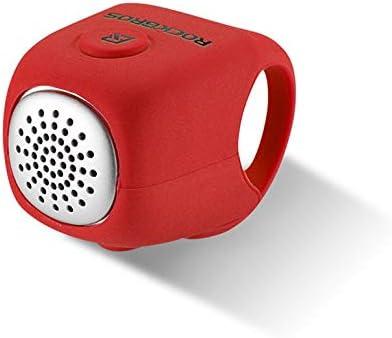 CremeBruluee RockBROS - Timbre eléctrico para manillar de bicicleta (90 dB): Amazon.es: Deportes y aire libre