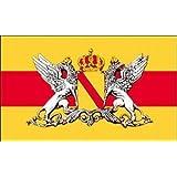 Baden mit Grossem Wappen Fahne Grösse 1,50x0,90m - FRIP –Versand®