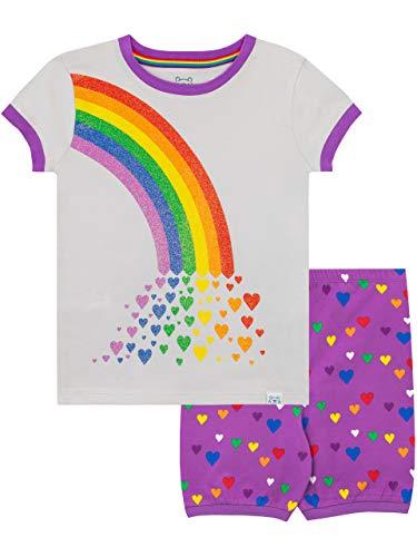 Harry Bear Regenboog pyjama voor meisjes, kort