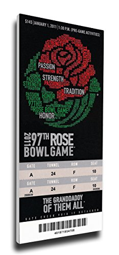 NCAA 2011 Rose Bowl Game Mega Ticket by That's My Ticket