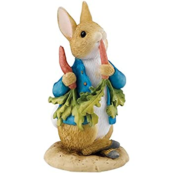 Beatrix Potter Miniature Figurine - Peter Ate Some Radishes (A26708)