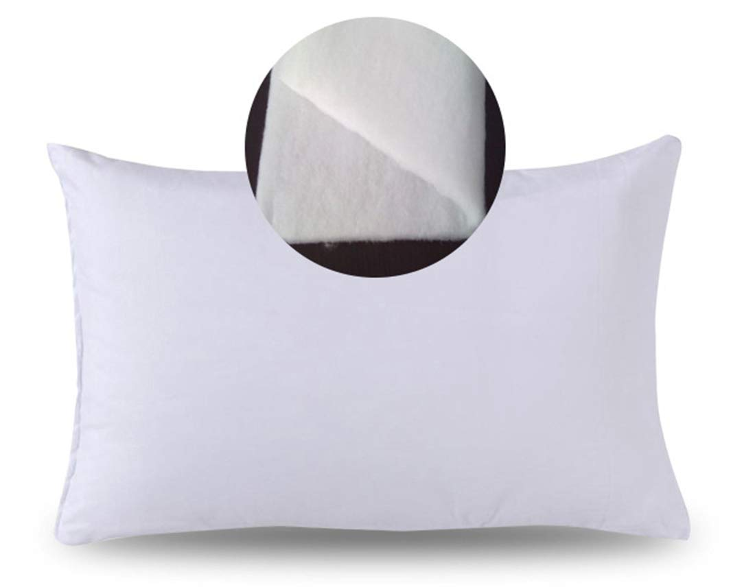 Baby Toddler Pillow-Toddler Bedding Small Pillow with 100/% Cotton Cover 60X40CM C, M