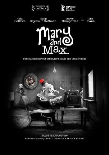 Amazon Com Mary And Max 27x40 Movie Poster 2009 Lithographic Prints Posters Prints