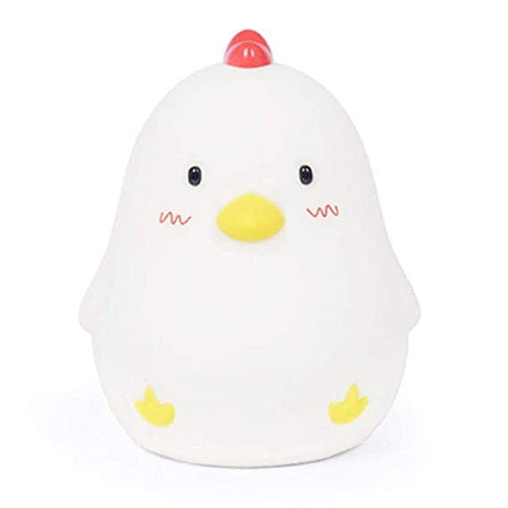 Amazon.com: ADCorner Bedside Lamp Chicken Wake Up Alarm Clock Adjustable Brightness Night Light for Nursery Baby Kids Bedroom Birthday Chicken: Home & ...