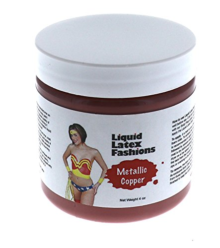 Metallic Copper Liquid Latex Body Paint - 4 Oz