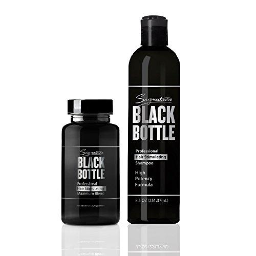 Black Bottle Shampoo Support Vitamins product image