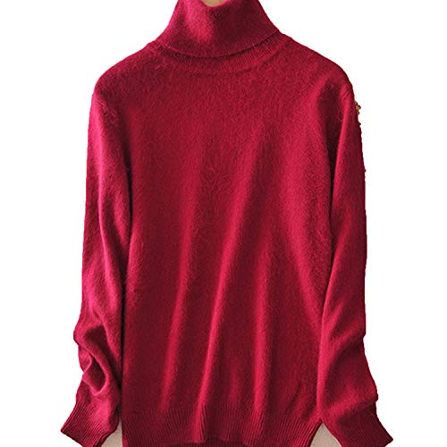 Avory Women Turtleneck Women Knitted Turtleneck Winter Cashmere - Cashmere Womens Briefcase