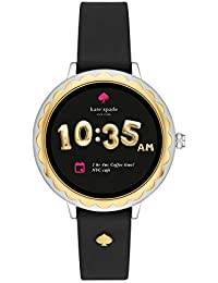 Scallop Touchscreen Smartwatch, Two-Tone Stainless Steel,...