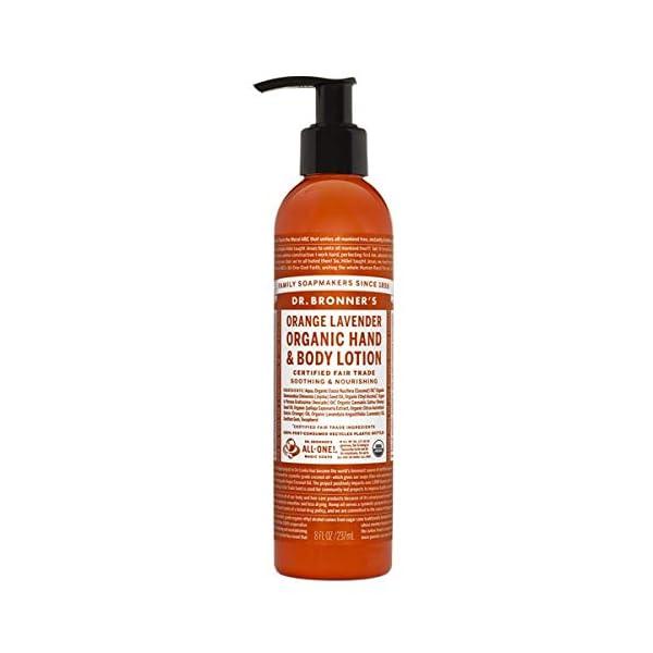 Dr Bronner's 236 ml Organic Orange Lavender Lotion