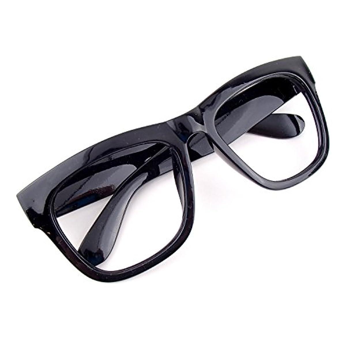 [해외] 【아울렛품】 다테 안경 렌즈 없음 맨즈 레이디스 겸용