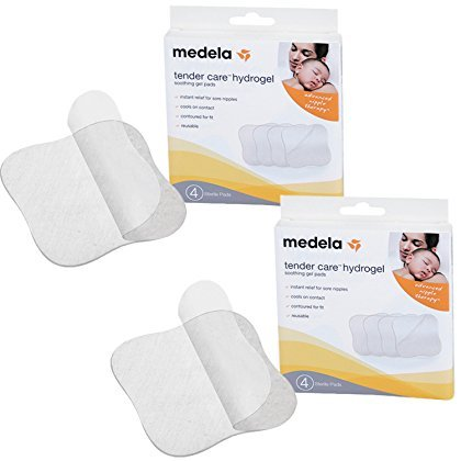 Medela Tender Care Hydrogel Pads, 2 Pack (Care Gel Care)