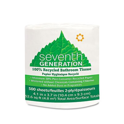 100 Recycled White 2 Ply - 5