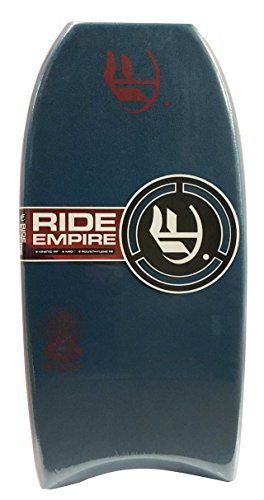 Empire Bodyboards Mini Botha PE Bodyboard, 36″, Deep Sea