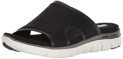 Image of Skechers Women's Flex Appeal 2.0-Summer Jam-Casual Sporty Comfort Slide Sandal