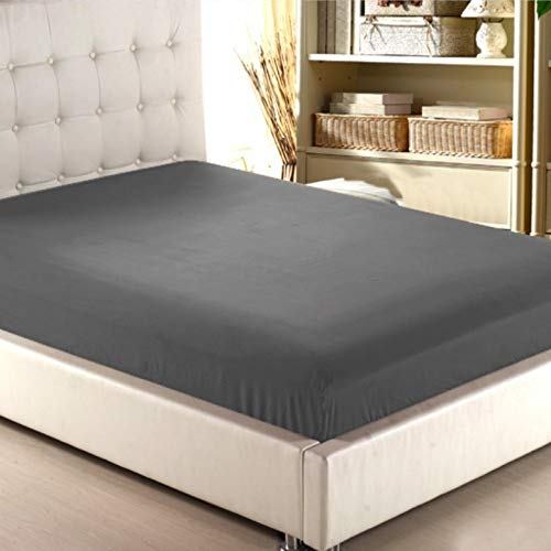NKns Simple Solid Color Hotel Hotel Bed Trampoline Cover Single Piece Mattress Set Bedding Gray120Cmx200X30Cm Portable Baby Bed Mattress from NKns