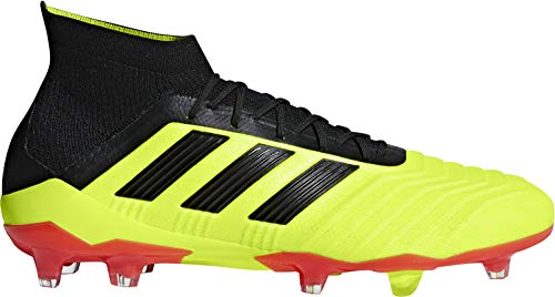adidas Predator 18.1 Firm Ground Mens Football Boots - Yellow-7