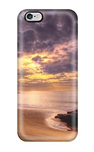 High Grade DanMarin Flexible Tpu Case For Iphone 6 Plus - Sunset